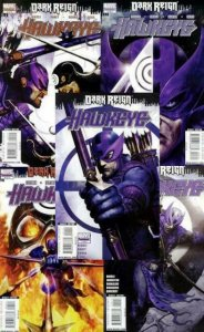 HAWKEYE DARK REIGN (2009) 1-5  vs Bullseye