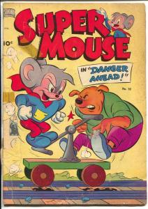 Supermouse #10 1950-Standard-sci-fi humor-tape-FR