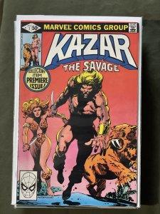 Ka-Zar the Savage #1 (1981)