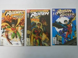 Robin Comic Lot 3 Different Books 8.0 VF (1996 & 2008)