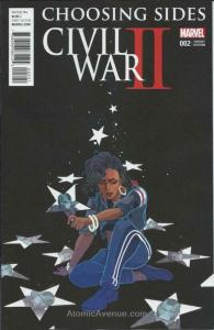 Civil War II: Choosing Sides #2A VF; Marvel | save on shipping - details inside