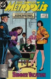 DC Comics! The World of Metropolis! Issue 2!