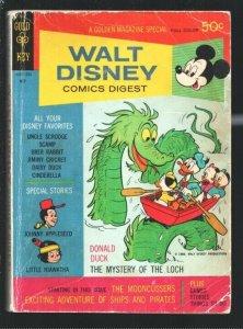 Walt Disney Comics Digest #11 1969-Carl Barks-Donald Duck-Uncle Scrooge-Cinde...