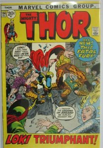 The Mighty Thor #194 - 4.0 VG - 1971