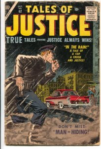 Tales of Justice #62 1956-Atlas-crime stories-John Severin cover-Gene Colon-J...