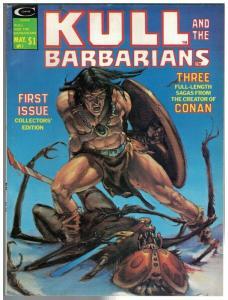 KULL & THE BARBARIANS 1 VG- May 1975