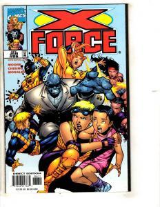 Lot Of 10 X-Force Marvel Comic Books # 86 87 88 89 90 91 92 93 94 95 X-Men CR59