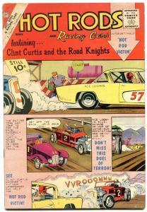 Hot Rods and Racing Cars #56 1962- Charlton Comics Studebaker vg+