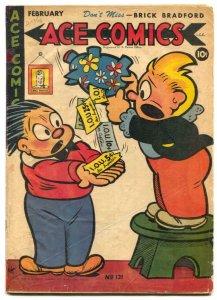 Ace Comics #131 1947- PHANTOM- Prince Valiant restored