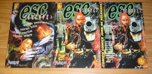 Esc #1-2 VF/NM complete series + poster - stefan petrucha - comico set lot