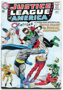 Justice League Of America #35 1965-Batman Green Lantern VG-