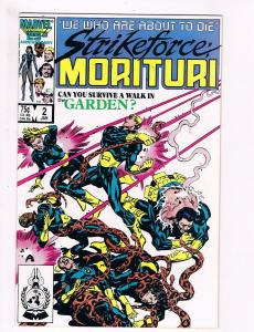 Strike Force Morituri # 2 Marvel Comic Books Total War On Earth WOW!!!!!!!!! S47