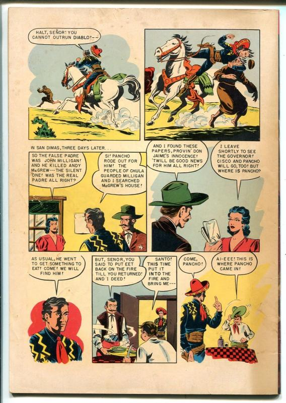Cisco Kid 15 1953 Dell Painted Cover Western Stories VG HipComic