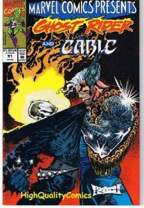 MARVEL COMICS PRESENTS #91, NM+, Sam Kieth, Ghost Rider, Wolverine, more MCP