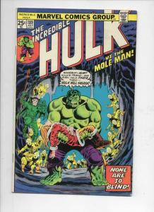 HULK #189, FN, Mole Man, Trimpe, Marvel, 1968, Incredible, more in store