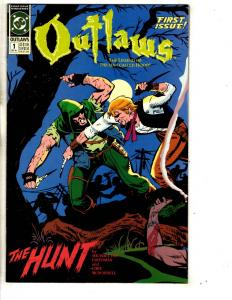 Lot Of 6 Outlaws DC Comic Books # 1 2 3 4 5 6 Mini Series The Hunt TP3