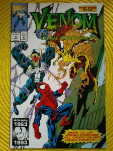 Venom Lethal Protector 4 (1st Cameo) App Scream Agony Lasher Phage Riot 1993