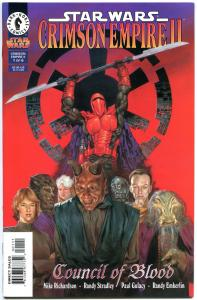 STAR WARS CRIMSON EMPIRE 2 #1 2 3 4 5 6, VF+, Dave Dorman, Paul Gulacy, 1998