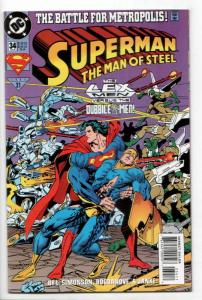 Superman The Man of Steel #34 (DC, 1994) VF/NM