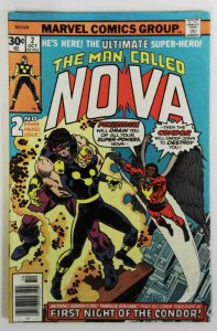 The Man Called Nova #2  FN-  1st app of Condor & 2nd app of Nova  Comic  1976