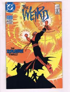 The Weird #4 VF DC Comics Comic Book Starlin 1988 DE15