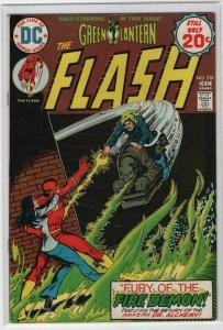 Bronze Age Flash Comics #230 6.0 Fine condition Bronze Age 1974