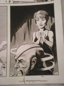 TIGRESS TALES #5 Original Mike Hoffman art, Page #11, Signed, published