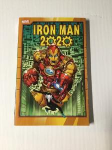 Iron Man 2020 Tpb 1st Print Nm Near Mint