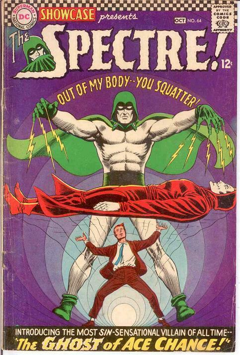 SHOWCASE 64 G-VG SPECTRE   October 1966 COMICS BOOK