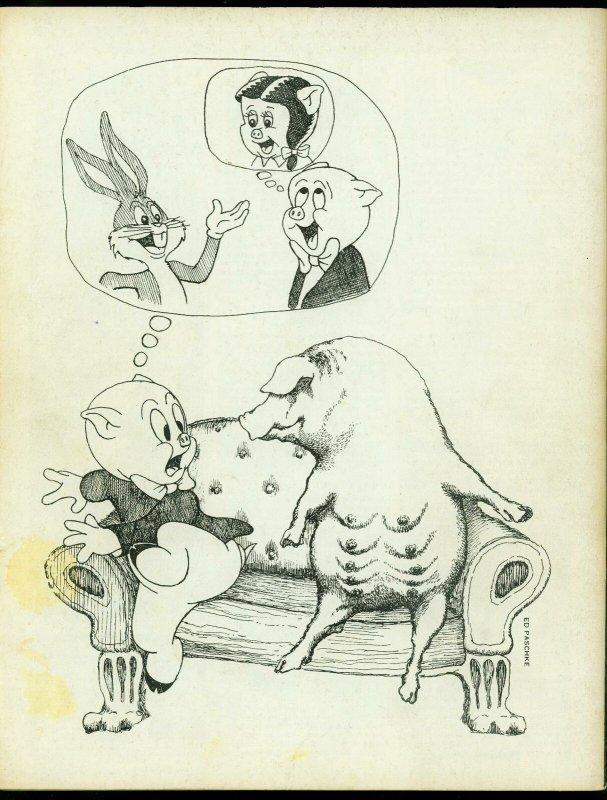 Witzend #5 1968- Wally Wood Pro fanzine- Vaughn Bode- Steranko VG/F