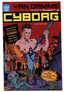 Cyborg The Comic Book #1 1989-Jean Claude Van Damme VF