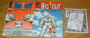 Big Guy and Rusty the Boy Robot #1-2 FN/VF/NM complete series + preview DARROW