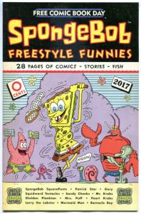 SPONGEBOB, NM, FCBD, Freestyle Funnies, 2017, more Promo / items in store