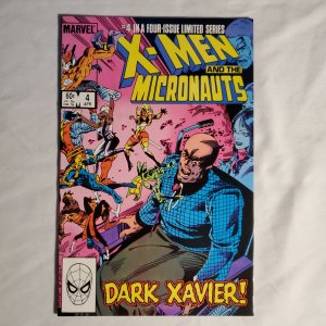 X-Men and the Micronauts 4 Very Fine/Near Mint Written by Chris Claremont