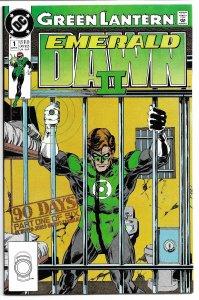 Green Lantern: Emerald Dawn II #1 (1991) VF
