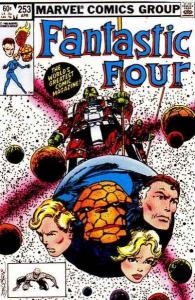 Fantastic Four (1961 series) #253, VF+ (Stock photo)