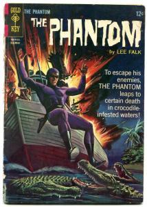 THE PHANTOM #15 1965-GOLD KEY COMICS-GATOR COVER-HORROR FR
