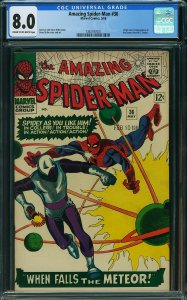 Amazing Spider-Man #36 (Marvel, 1966) CGC 8.0