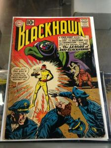 Blackhawk 165 G/VG (Oct. 1961)  1st App. Leagion of Anti-Blackhawks