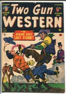 Two Gun Kid #11 1951- Atlas -Joe Maneely-Kid Colt-Apache Kid-Texas Kid-VG