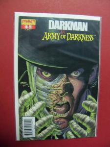 DARKMAN VS. ARMY OF DARKNESS  #3  (9.4 or better)  1ST PRINT