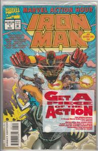 Marvel Action Hour Featuring Iron Man #1 (Nov-94) NM/MT Super-High-Grade Iron...