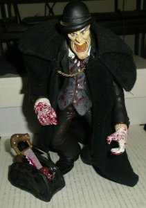 Jack The Ripper Action Figure Open Mouth Derby Hat 2004 Mezco