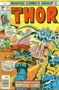 Thor #261 VF/NM; Marvel | save on shipping - details inside