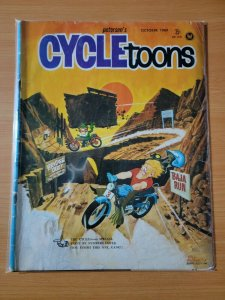 Petersen's Cycletoons Cycle Toons Car Magazine October 1969 ~ VERY GOOD VG ~
