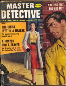 Master Detective 3/1959-Macfadden-spicy woman-pulp crime-strangulation-G