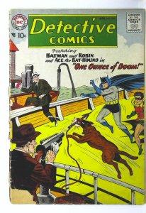 Detective Comics (1937 series) #254, Good- (Actual scan)