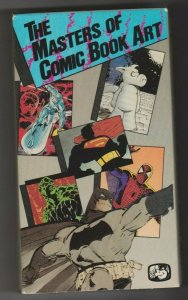 THE MASTERS OF COMIC BOOK ART 1989 VHS JACK KIRBY / NEAL ADAMS / STEVE DITKO