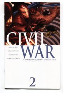 Civil War #2- 2006-Marvel-Captain America-Spider-Man-Marvel Movie MCU