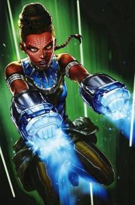 Shuri #8 Battle Lines Variant (Marvel, 2019) NM